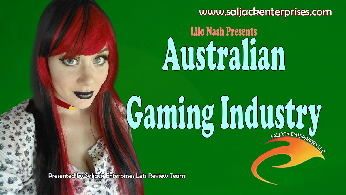 The Lilo-log #81: Australian Gaming Industry! Presented by Saljack Enterprises. Gaming. Animation. Media. Entertainment. Woman Owned. Short Films. Animated Movies. Kids Cartoons. Game Development.